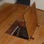simple attic door